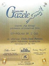 Gazele Biznesu 2007